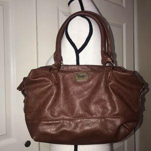 Vans brown leather purse